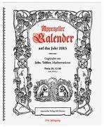 Cover-Bild zu Appenzeller Verlag (Hrsg.): Appenzeller Kalender 2015