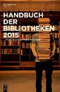 Cover-Bild zu eBook Handbuch der Bibliotheken 2014