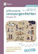 Cover-Bild zu Differenzierte Lesespurgeschichten Religion 5-6 von Blomann, Sandra