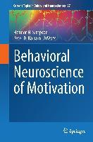 Cover-Bild zu Behavioral Neuroscience of Motivation von Simpson, Eleanor H. (Hrsg.)