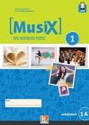 Cover-Bild zu MusiX 1. Arbeitsheft 1A. Neuausgabe 2019 von Detterbeck, Markus