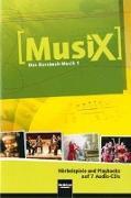 Cover-Bild zu MusiX 1. 7 AudioCDs von Detterbeck, Markus
