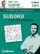 Cover-Bild zu Stefan Heine Sudoku mittel bis schwierig 2021 - Tagesabreißkalender -11,8x15,9 - Rätselkalender - Knobelkalender