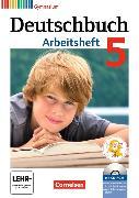 Cover-Bild zu Deutschbuch Gymnasium 5. Schuljahr. Allgemeine Ausgabe. Arbeitsheft mit CD-ROM von Diehm, Jan