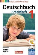 Cover-Bild zu Deutschbuch 1 5. Schuljahr. Neubearbeitung. Arbeitsheft mit Lösungen und CD-ROM. BW von Diehm, Jan
