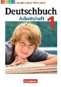 Cover-Bild zu Deutschbuch 1. Neubearbeitung. Arbeitsheft mit Lösungen. BW von Diehm, Jan