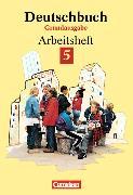 Cover-Bild zu Deutschbuch Grundausgabe Arbeitsheft mit Lösungen von Diehm, Jan