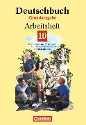 Cover-Bild zu Deutschbuch 10. Schuljahr. Grundausgabe. Arbeitsheft von Biermann, Günther