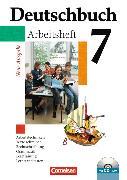 Cover-Bild zu Deutschbuch 7. Schuljahr. Allgemeine Ausgabe. Arbeitsheft mit CD-ROM von Diehm, Jan