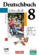 Cover-Bild zu Deutschbuch 8. Schuljahr. Arbeitsheft mit CD-ROM von Diehm, Jan