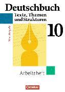 Cover-Bild zu Deutschbuch Gymnasium 10. Schuljahr. Arbeitsheft von Diehm, Jan