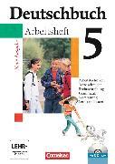 Cover-Bild zu Deutschbuch 5. Schuljahr. Neue Ausgabe. Arbeitsheft mit CD-ROM von Diehm, Jan