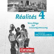 Cover-Bild zu Réalités, Lehrwerk für den Französischunterricht, Aktuelle Ausgabe, Band 4, Leistungsmessungen, CD-Extra, CD-ROM und CD auf einem Datenträger