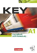 Cover-Bild zu Key, Aktuelle Ausgabe, A1, Kursbuch mit CDs und Phrasebook von Wright, Jon