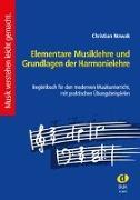 Cover-Bild zu Elementare Musiklehre und Grundlagen der Harmonielehre von Nowak, Christian