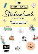 Cover-Bild zu Bullet Journal - Stickerbuch Happy Travel: 750 Schmuck- und Layoutelemente rund um das Thema Reisen