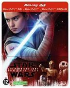 Cover-Bild zu Star Wars - Les derniers Jedi - 3D+2D - Steelbook - édition limitée von Johnson, Rian (Reg.)