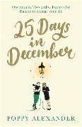 Cover-Bild zu 25 Days in December von Alexander, Poppy