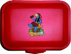 Cover-Bild zu Globi Lunchbox Pirat rot von Glättli, Samuel (Illustr.)
