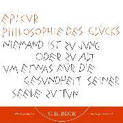 Cover-Bild zu Philosophie des Glücks (Audio Download) von Epikur