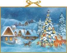 Cover-Bild zu Adventskalender - Weihnachtsdämmerung von Dusikova, Maja (Illustr.)