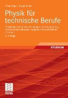 Cover-Bild zu Physik für technische Berufe von Böge, Alfred