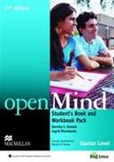 Cover-Bild zu openMind 2nd Edition AE Starter Student's Book & Workbook Pack von Wisniewska, Ingrid