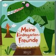Cover-Bild zu Karipidou, Maria (Illustr.): Dinos. Meine Kindergarten-Freunde