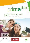 Cover-Bild zu Prima plus, Deutsch für Jugendliche, Allgemeine Ausgabe, A2: zu Band 1 und 2, Video-DVD mit Übungen