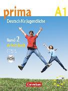 Cover-Bild zu Prima - Deutsch für Jugendliche, Bisherige Ausgabe, A1: Band 2, Arbeitsbuch mit Audio-CD von Jin, Friederike