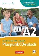 Cover-Bild zu Pluspunkt Deutsch, Der Integrationskurs Deutsch als Zweitsprache, Ausgabe 2009, A2: Gesamtband, Arbeitsbuch mit Lösungsbeileger und Audio-CD von Jin, Friederike