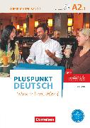 Cover-Bild zu Pluspunkt Deutsch - Leben in Deutschland, Allgemeine Ausgabe, A2: Teilband 1, Kursbuch mit Video-DVD (2. Ausgabe) von Jin, Friederike