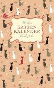 Cover-Bild zu Der kleine Katzenkalender für alle Jahre von Sanssouci Verlag (Hrsg.)