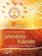 Cover-Bild zu Immerwährender Jahreskreis-Kalender von Ruland, Jeanne