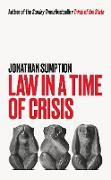 Cover-Bild zu Law in a Time of Crisis (eBook) von Sumption, Jonathan