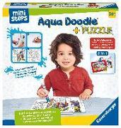 Cover-Bild zu Aqua Doodle® Puzzle: Einsatzfahrzeuge