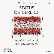 Cover-Bild zu Status Österreich (Audio Download) von Eiselsberg, Paul