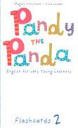 Cover-Bild zu Level 2: Flashcards - Pandy the Panda von Geminiani, Letizia (Illustr.)