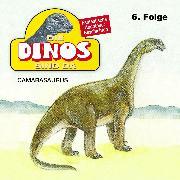 Cover-Bild zu Die Dinos sind da, Folge 6: Camarasaurus (Audio Download) von Fohrmann, Petra