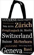 Cover-Bild zu 24642; Tasche Shopper Switzerland schwarz/gold Escudo de Oro
