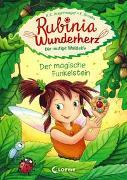 Cover-Bild zu Rubinia Wunderherz, die mutige Waldelfe - Der magische Funkelstein von Angermayer, Karen Christine
