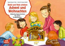 Cover-Bild zu Betül und Nele erleben Advent und Weihnachten. Kamishibai Bildkartenset von Fromme-Seifert, Viola M.