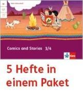 Cover-Bild zu Mein Indianerheft. Comics and Stories. Arbeitsheft Klasse 3/4 (5-er Paket)