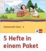 Cover-Bild zu Mein Indianerheft. Grammatik üben. Arbeitsheft Klasse 4 (5-er Paket)