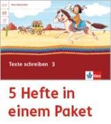 Cover-Bild zu Mein Indianerheft. Texte schreiben. Arbeitsheft Klasse 3 (5-er Paket)