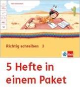 Cover-Bild zu Mein Anoki-Übungsheft. Richtig schreiben. Arbeitsheft Klasse 3 (5-er Paket)