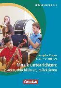 Cover-Bild zu Scriptor Praxis, Musik unterrichten: planen, durchführen, reflektieren, Buch von Eberhard, Daniel Mark
