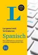 Cover-Bild zu Langenscheidt Verbtabellen Spanisch