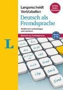 Cover-Bild zu Langenscheidt Verbtabellen Deutsch als Fremdsprache - Buch mit Konjugationstrainer zum Download von Fleer, Sarah