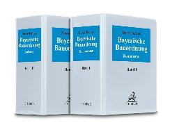 Cover-Bild zu Bayerische Bauordnung - Bayerische Bauordnung von Busse, Jürgen (Hrsg.)